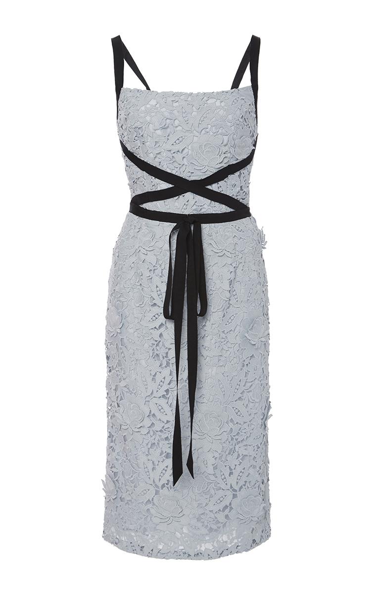 Light Grey Lace Dresses