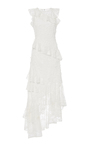 Prima Lace Asymmetric Gown by SACHIN & BABI for Preorder on Moda Operandi
