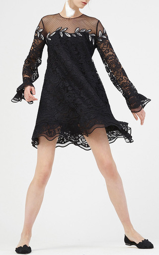 Julliard Lace Mini Dress by SACHIN & BABI for Preorder on Moda Operandi