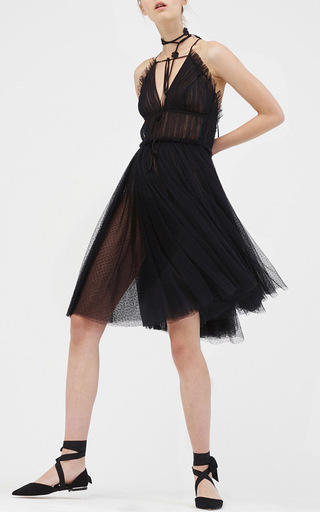 Leigh A Line Tulle Dress by SACHIN & BABI for Preorder on Moda Operandi