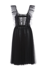 Lily Cap Sleeve Tulle  Dress by SACHIN & BABI for Preorder on Moda Operandi