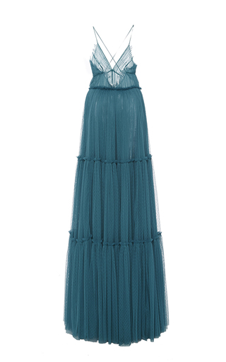 Vivien Tiered Tulle Gown by SACHIN & BABI for Preorder on Moda Operandi