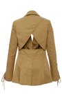 Mildred Lace Up Blazer by MARISSA WEBB for Preorder on Moda Operandi