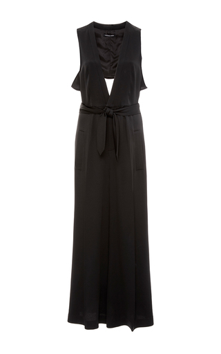 Medium marissa webb black connie plunge jumper