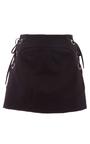 Barbara Lace Up Mini Skirt by MARISSA WEBB for Preorder on Moda Operandi
