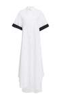 Open Back Belted Cotton Shirt Dress by TOME for Preorder on Moda Operandi
