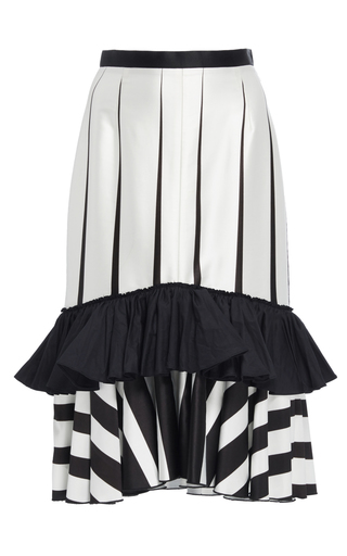 Printed Mermaid Skirt by TOME for Preorder on Moda Operandi