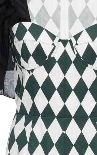 Printed Ruffle Sleeve Sweetheart Dress by TOME for Preorder on Moda Operandi