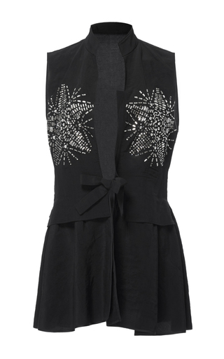 Chinoise Crystal Vest by TOME for Preorder on Moda Operandi