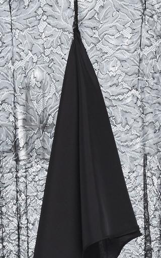 Long V Neck Ruffle Dress by TOME for Preorder on Moda Operandi