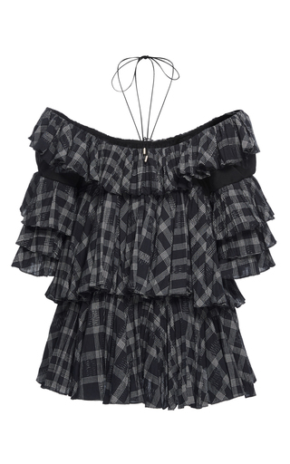 Off The Shoulder Ruffle Blouse by TOME for Preorder on Moda Operandi