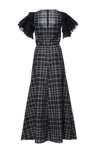 Ruffle Sleeve Sweetheart Dress by TOME for Preorder on Moda Operandi