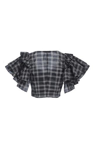 Ruffle Sleeve Bra Top by TOME for Preorder on Moda Operandi