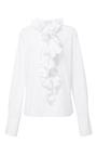 Cotton Ruffle Collar Shirt by TOME for Preorder on Moda Operandi