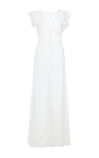Long V Neck Dress by TOME for Preorder on Moda Operandi