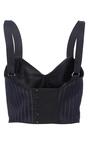 Cotton Pinstripe Bra Top by TOME for Preorder on Moda Operandi