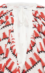 Printed Ruffle Peasant Blouse by TOME for Preorder on Moda Operandi