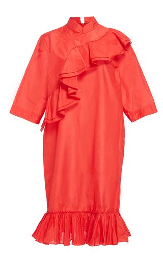 Silk Blend Ruffled Sheath Dress by TOME for Preorder on Moda Operandi
