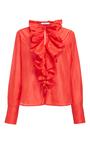 Ruffle Collar Shirt by TOME for Preorder on Moda Operandi
