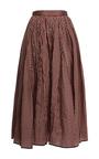 Striped Dirndl Skirt by TOME for Preorder on Moda Operandi