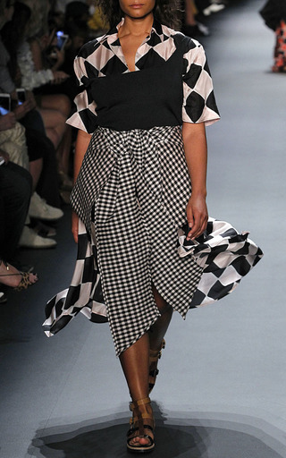 Harlequin Open Back Belted Shirt Dress by TOME for Preorder on Moda Operandi