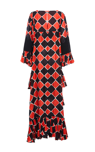 Zig Zag Tiered Dress by TOME for Preorder on Moda Operandi