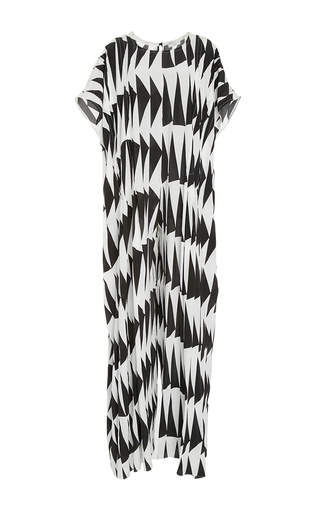 Pleated Oversized Jumpsuit by TOME for Preorder on Moda Operandi