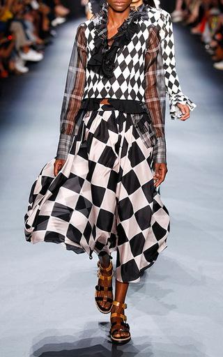 Harlequin Dirndl Skirt by TOME for Preorder on Moda Operandi