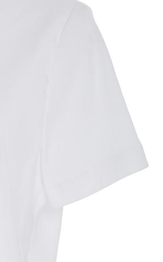 Poplin Front T Shirt by ROSETTA GETTY for Preorder on Moda Operandi