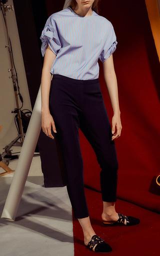 Wrap Sleeve Blouse by ROSETTA GETTY for Preorder on Moda Operandi