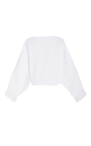 Bateau Neck Blouson by ROSETTA GETTY for Preorder on Moda Operandi
