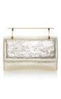 Mini Fabricca Metallic Textured Gold by M2MALLETIER for Preorder on Moda Operandi
