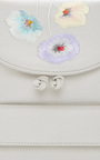 Backpack Flowers Embroidery In Cool Grey  by M2MALLETIER for Preorder on Moda Operandi