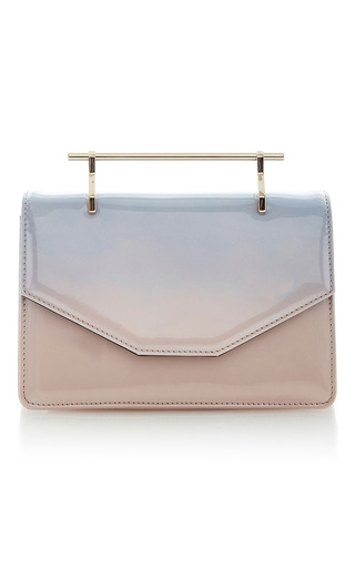 Medium m2malletier pink indre cross body bag pink blue patent