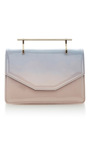 Indre Cross Body Bag Pink & Blue Patent by M2MALLETIER for Preorder on Moda Operandi