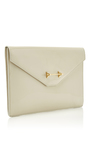 Envelope Cool Grey Patent by M2MALLETIER for Preorder on Moda Operandi