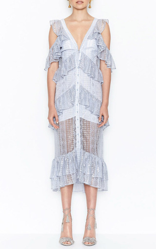 Melody Button Front Lace Dress by ALICE MCCALL for Preorder on Moda Operandi