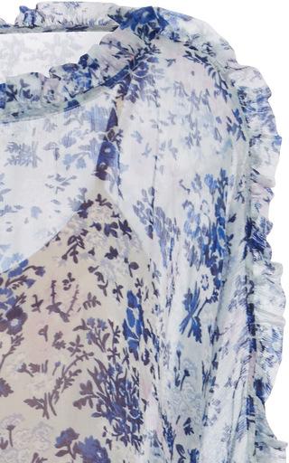 Lilou Printed Blouson Dress by ALICE MCCALL for Preorder on Moda Operandi