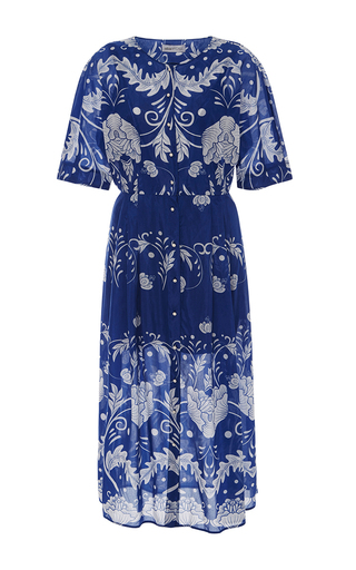 Medium alice mccall blue maggie may printed dress