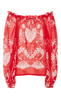 My Sweet Lord Off The Shoulder Blouse by ALICE MCCALL for Preorder on Moda Operandi