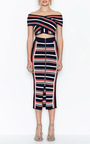 I Got You Babe Striped Skirt by ALICE MCCALL for Preorder on Moda Operandi