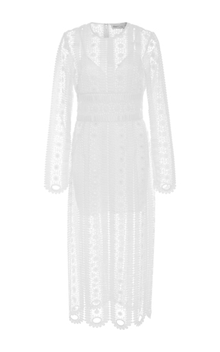 Medium alice mccall white like a dream lace midi dress