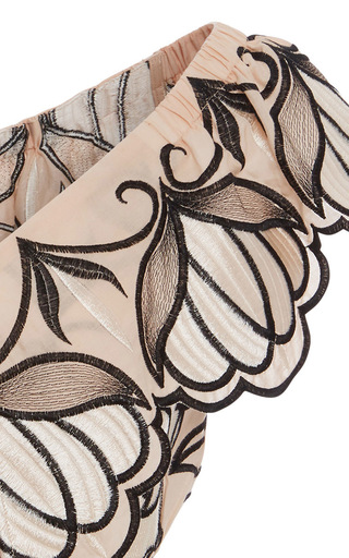 Let Your Love Flow Ballet Crop Top by ALICE MCCALL for Preorder on Moda Operandi