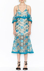 Northern Lights Cold Shoulder Dress by ALICE MCCALL for Preorder on Moda Operandi