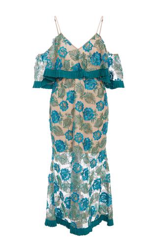 Medium alice mccall blue northern lights cold shoulder dress