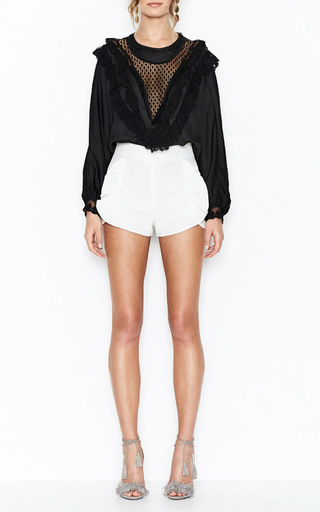 Heaven On Earth Ruffle Blouse by ALICE MCCALL for Preorder on Moda Operandi