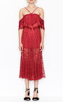 Electric Woman Halter Lace Dress by ALICE MCCALL for Preorder on Moda Operandi