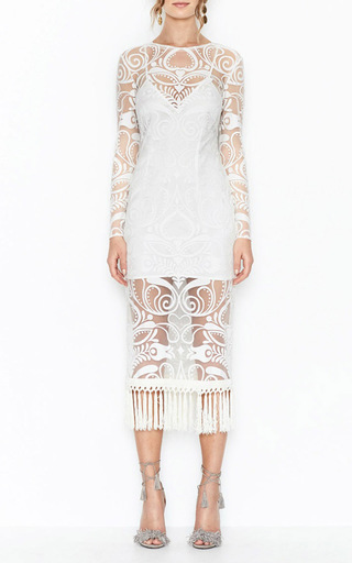 Tattoo Lady Fringe Dress by ALICE MCCALL for Preorder on Moda Operandi