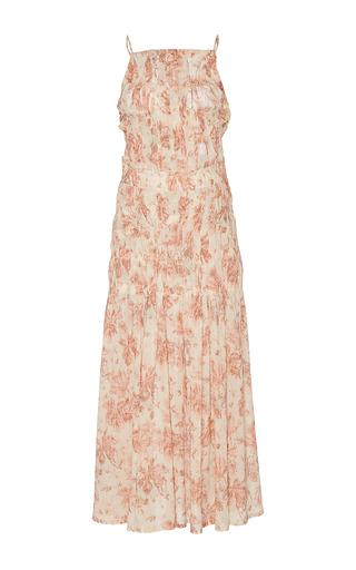 Medium brock floral delilah floral cotton voile dress