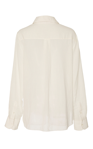 Baylee Collar Cotton Blouse by BROCK COLLECTION for Preorder on Moda Operandi